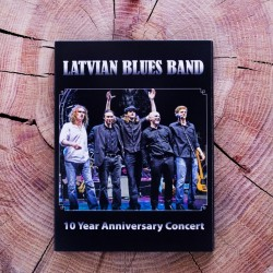 Latvian Blues Band, 10 Year Anniversary Concert (2011) DVD